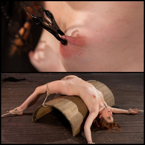 (30.04.2015) Hot Spanish Slut Fucked with Pain, Wax and Cumming