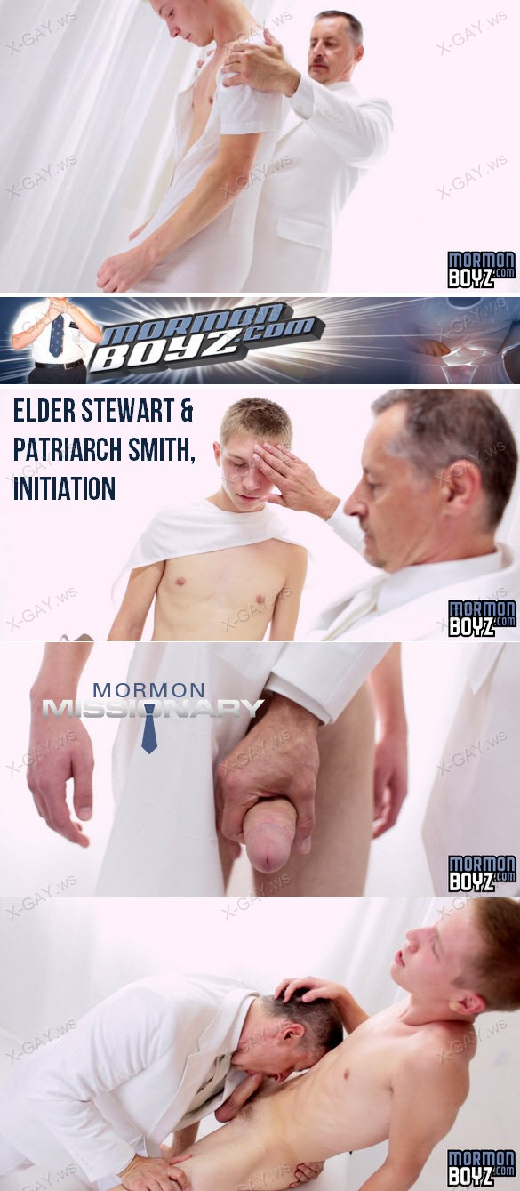 MormonBoyz – Elder Stewart & Patriarch Smith, Initiation