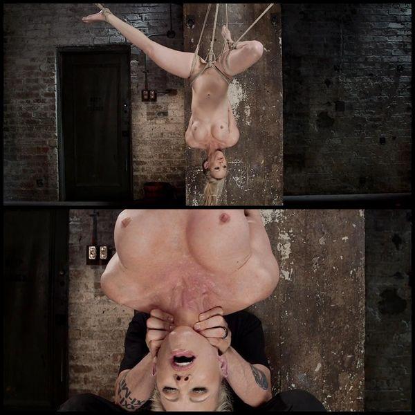 (07.05.2015) Blonde MILF in Brutal Bondage