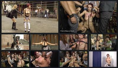 Public Disgrace - May 8, 2015 - Steve Holmes, Mona Wales, John Grey and Zenda Sexy