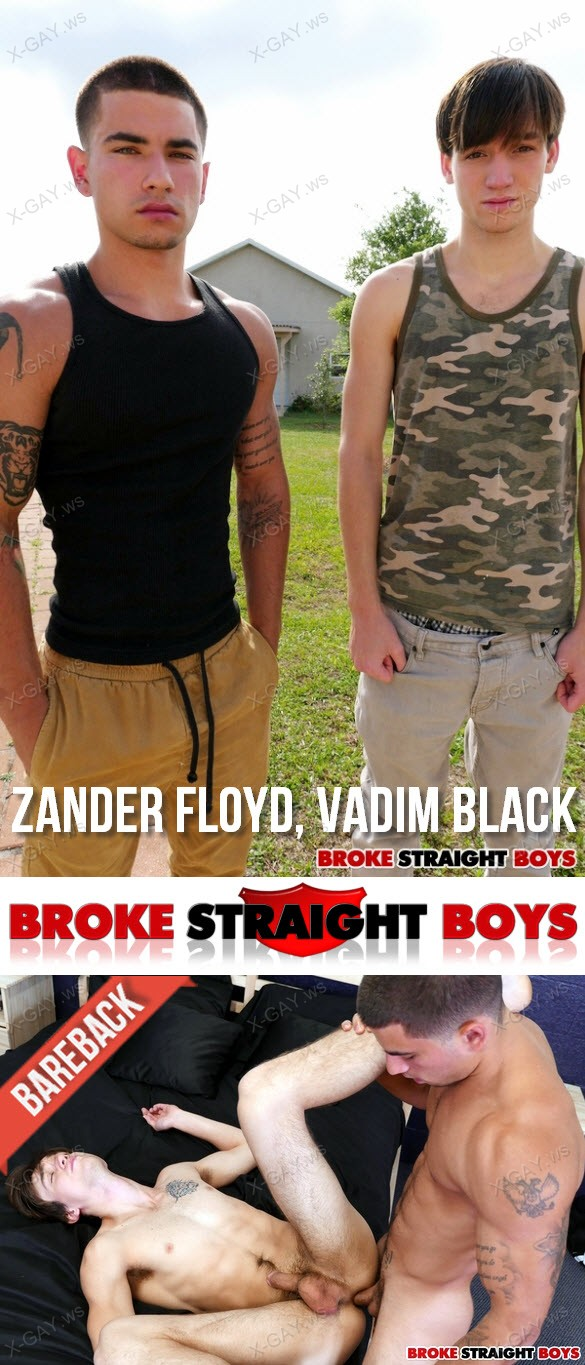 BrokeStraightBoys – Zander Floyd & Vadim Black, RAW