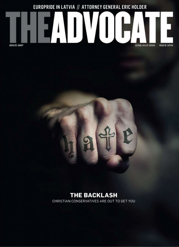 The Advocate – Issue #1079 – June/July 2015