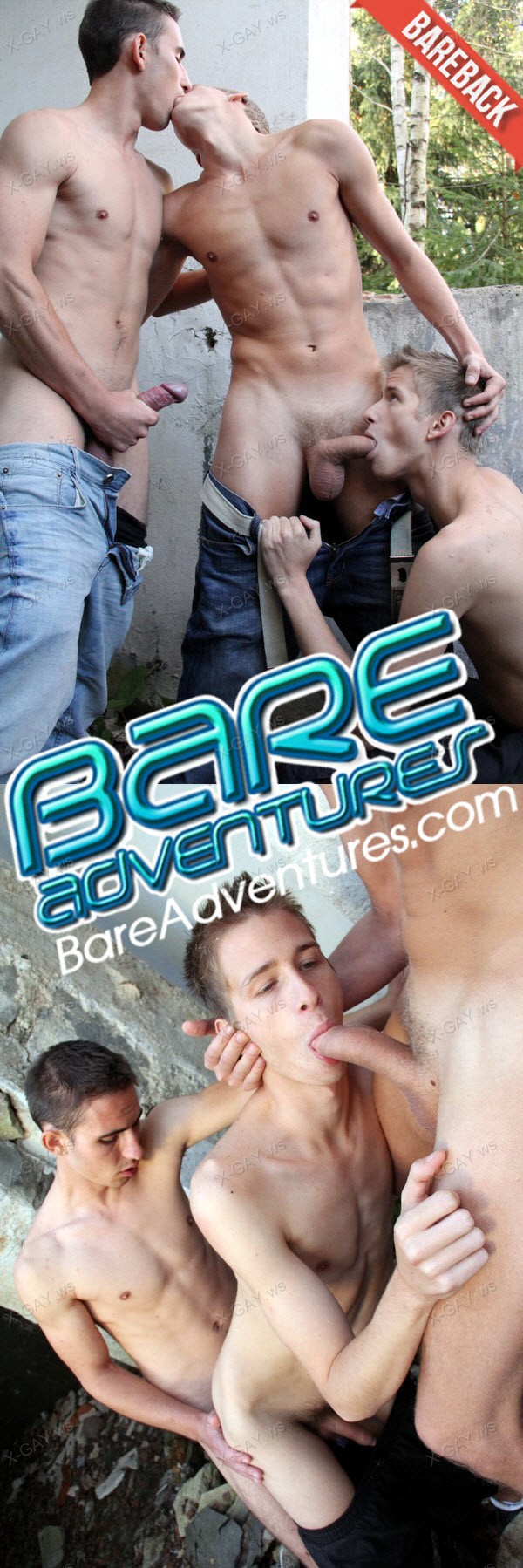 BareAdventures: David Gold, Thomas Fiaty & Chris Reed