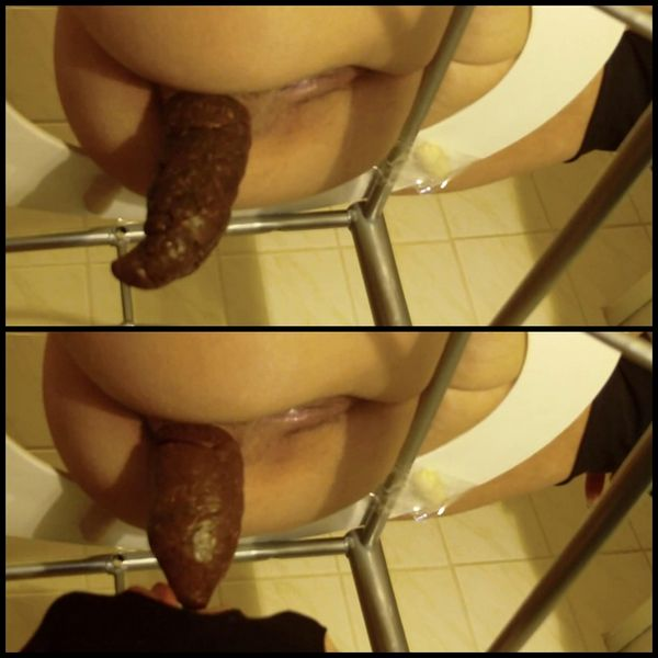 Amateur Video Man abused as a toilet – Femdom Scat, Shitting, Toilet slave