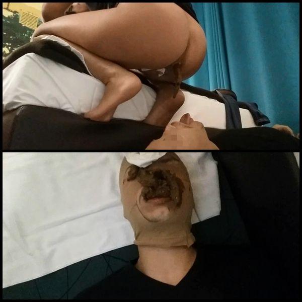 Scat Femdom extreme – shit and vomit swallow – Scat Femdom Extrem – Scheiße und Kotze schlucken