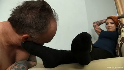 Sock Slaves - Mistress Olivia Sock Taste