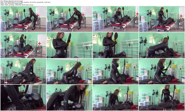 new 22.06.2015 Extreme Rubber Milking part 1