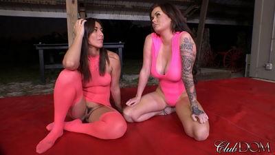 Clubdom - Rilynn & Roxi Wrestling Humiliation 2