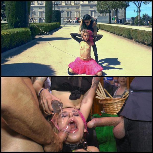 (10.07.2015) Service Slut Erika Sevilla Shamed