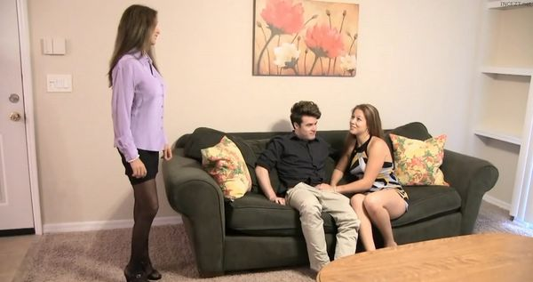 Proven REAL Mother and Daughter Threesome HD