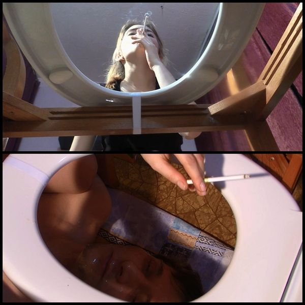 Day By Day For A Toilet Slave – Girls Spit In A Face To The Toilet Slave