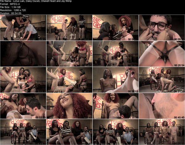 Jay Wimp, Daisy Ducati, Lotus Lain, Chanell Heart - Three The Hard Way