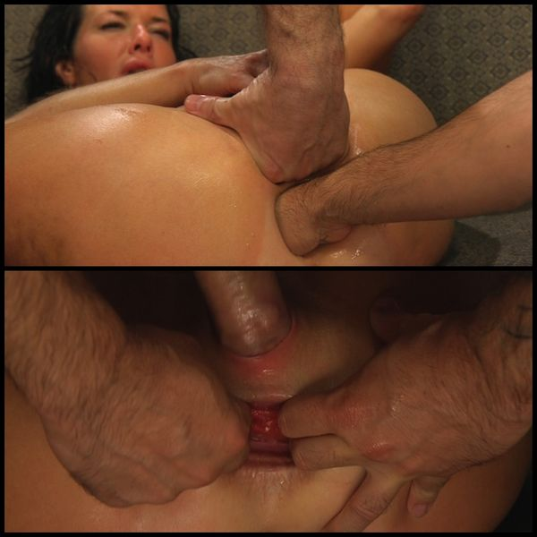 (02.09.2015) Kitten In A Cage: Vernoica Avluv GAPED AND EXPOSED