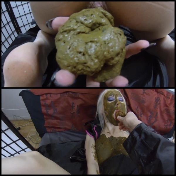 SMOTHERED and STUFFED with poop, then fucked DEEP and HARD