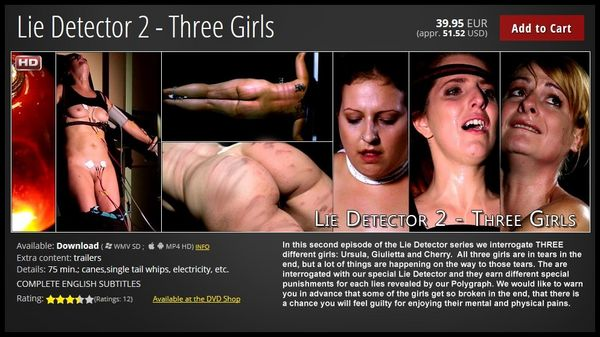 (18.10.2015) Lie Detector 2 – Three Girls
