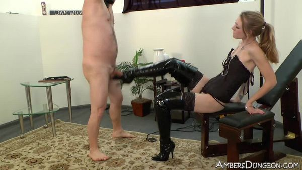 AmberDungeon - Mistress Riley - Booted Bitch 2 - Part 3 of 3