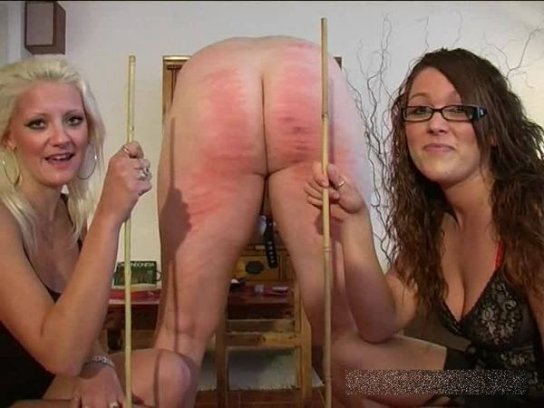 FemdomShed - Bratty Princess, Twisted Princess - Caned and dominated Bitchy Sister style