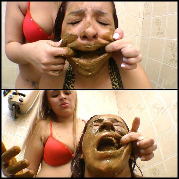(30.07.2016) Scat Toilette Fight By Anny Portilla