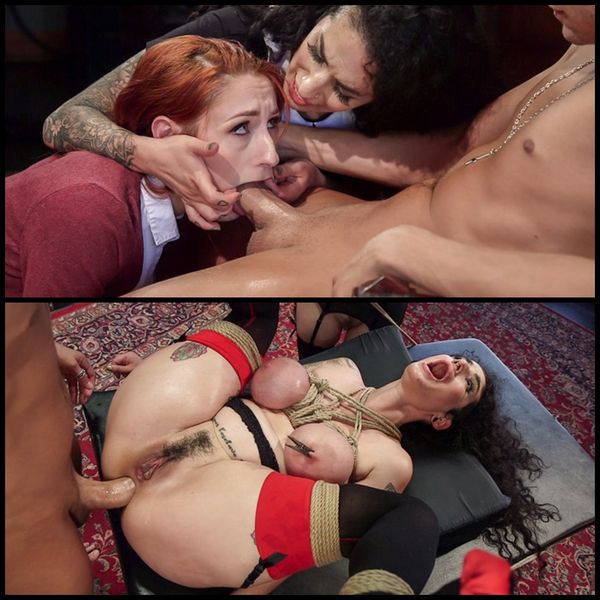 (06.09.2016) Arabelle Raphael Gets Sweet Revenge on Rich Bitch Violet Monroe