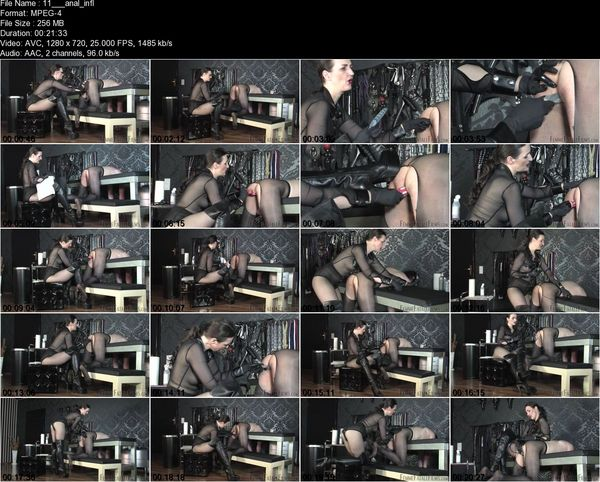 FemmeFataleFilms - Lady Victoria Valente - Anal Inflation Compkete