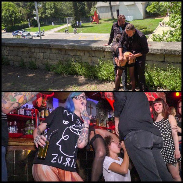 (26.09.2016) Spanish Slut Frida Sante Fucked Outdoors