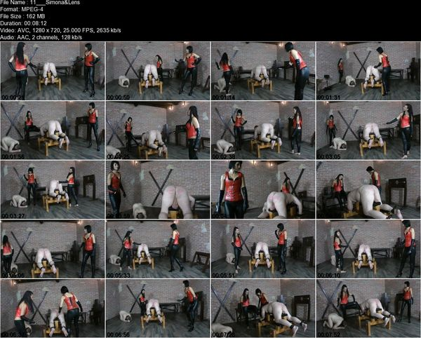 Female Czech Domination - Mistress Lenny, Madam Simona - Whipping Ass