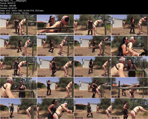 Ezada Sinn - Whipping Punishment Under The Hot Sun