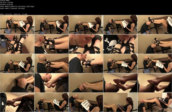 FootDomUnited - Mistress Nina - Foot Slave