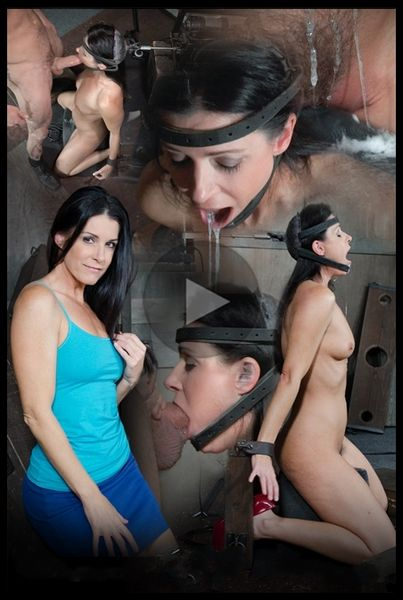 (02.11.2016) India Summer: The ultimate MILF is bound on the world's only face fucking machine and on a sybian!