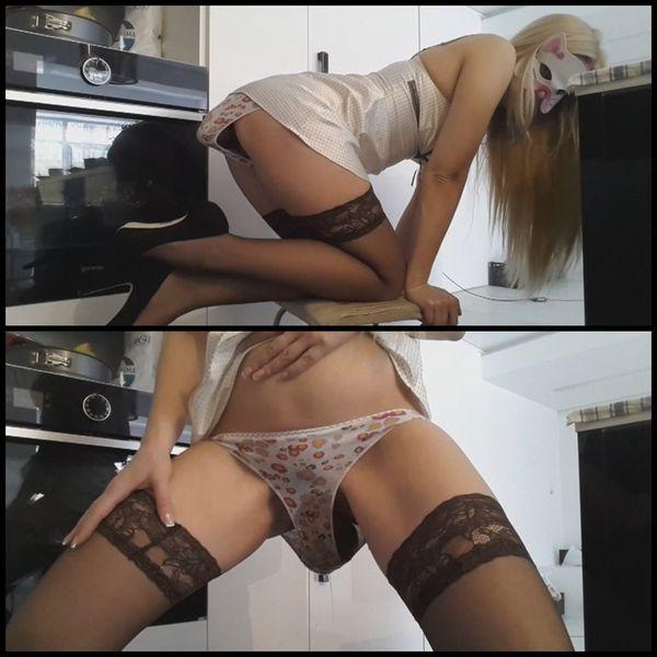 Blonde Heels Pull Pants