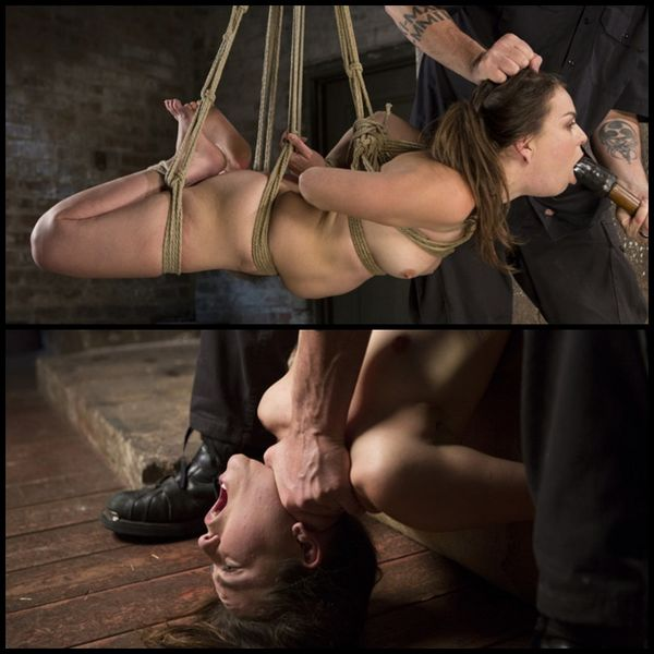 (08.12.2016) Pain Pixie Suffers in Grueling Bondage, is Tormented, and then Made to Cum