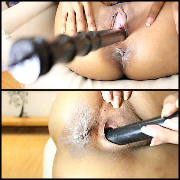 (20.12.2016) Big Round Ass, Pussy Gape, Dildo Penetrapion