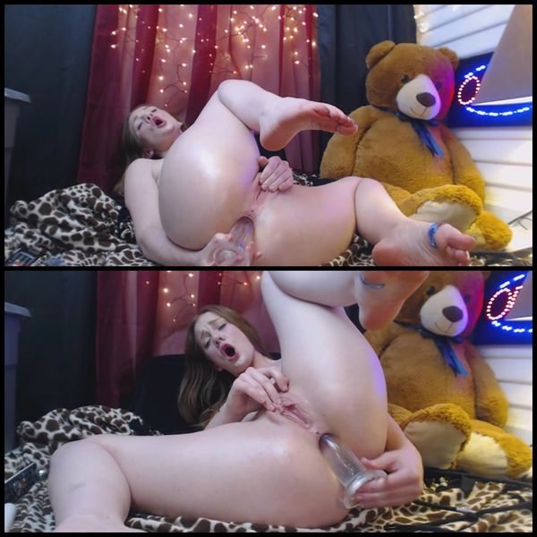 Gingersypce ANAL Domination Hour uživo pt2