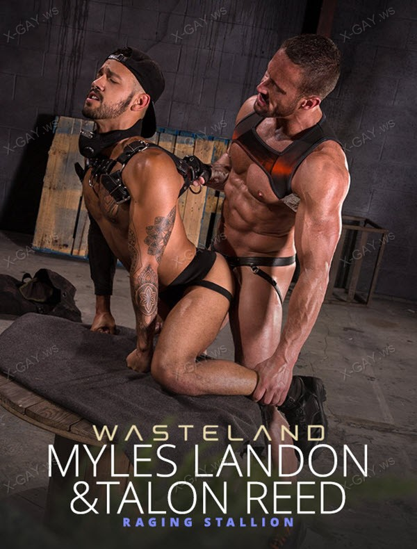RagingStallion: Wasteland (Myles Landon, Talon Reed)