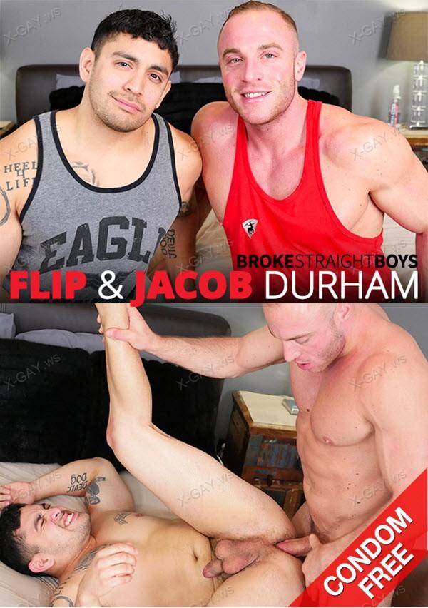 BrokeStraightBoys: Jacob Durham Fucks Flip Raw