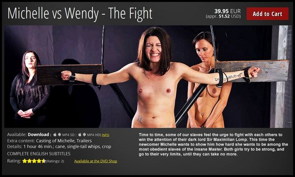 (20.11.2016) Michelle vs Wendy – The Fight
