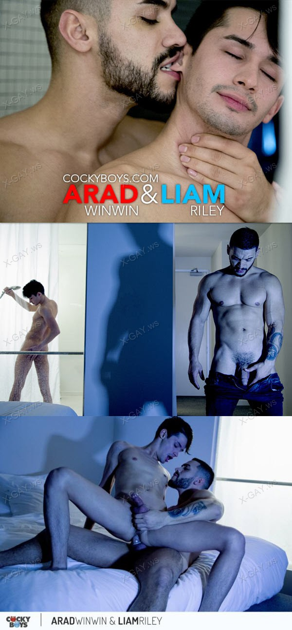 CockyBoys: Arad WinWin Fucks Liam Riley