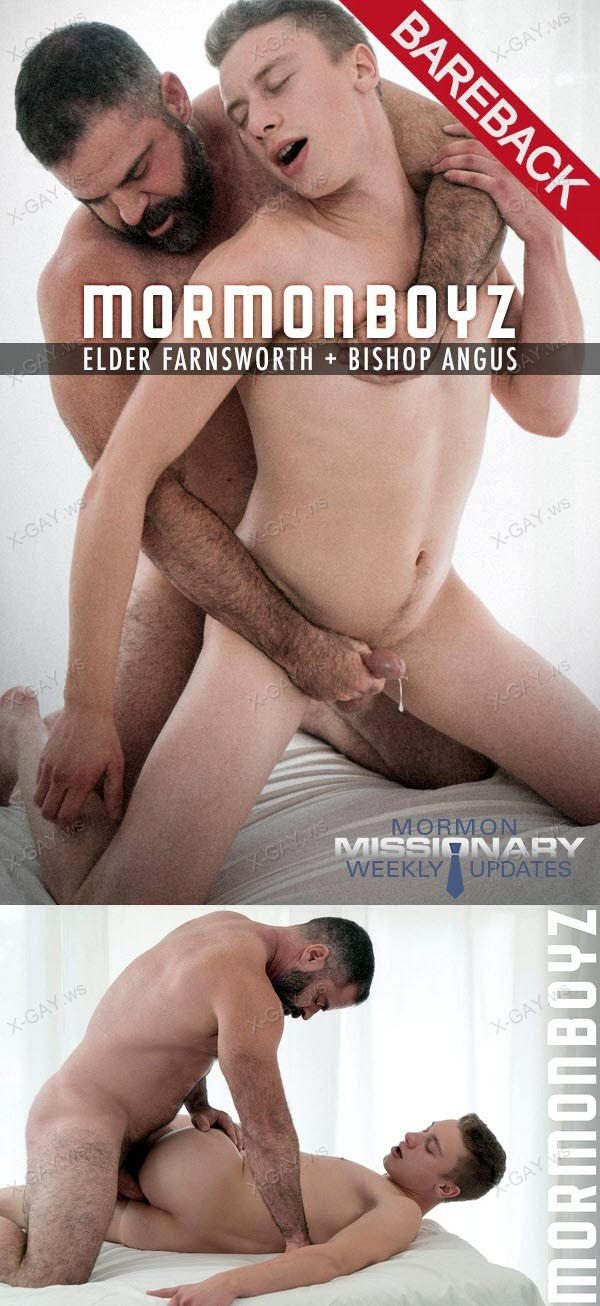 MormonBoyz: Elder Farnsworth: Second Anointing (with Bishop Angus) (Bareback)