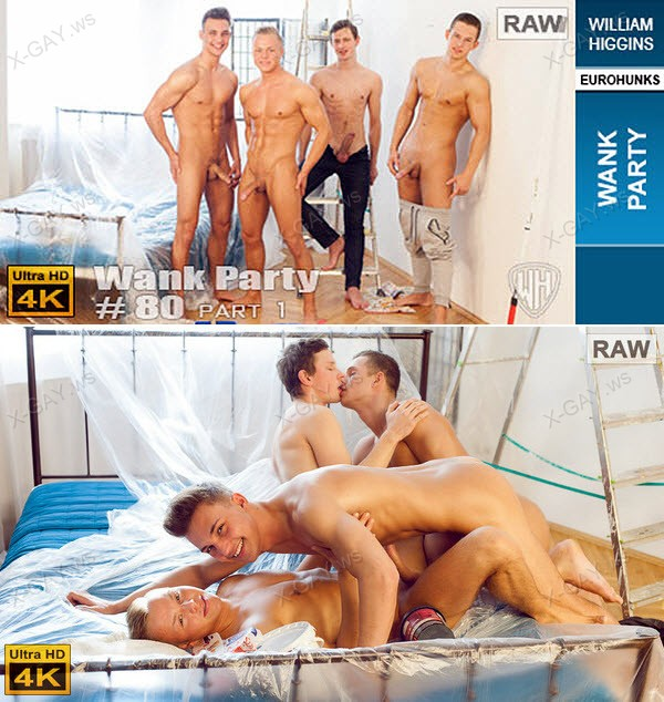 WilliamHiggins: Wank Party #80, Part 1 (RAW, WANK PARTY) [4K Ultra HD]