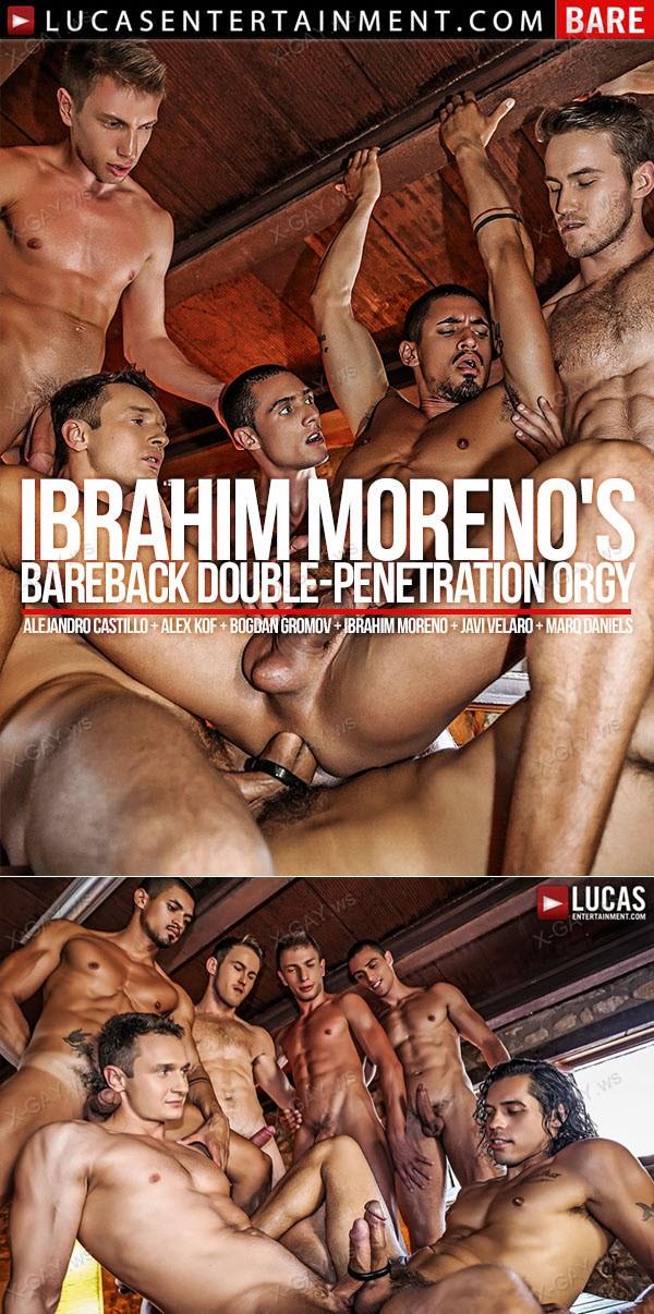 LucasEntertainment: Ibrahim Moreno's Bareback Double-Penetration Orgy (Alejandro Castillo, Alex Kof, Bogdan Gromov, Ibrahim Moreno, Javi Velaro, Marq Daniels)