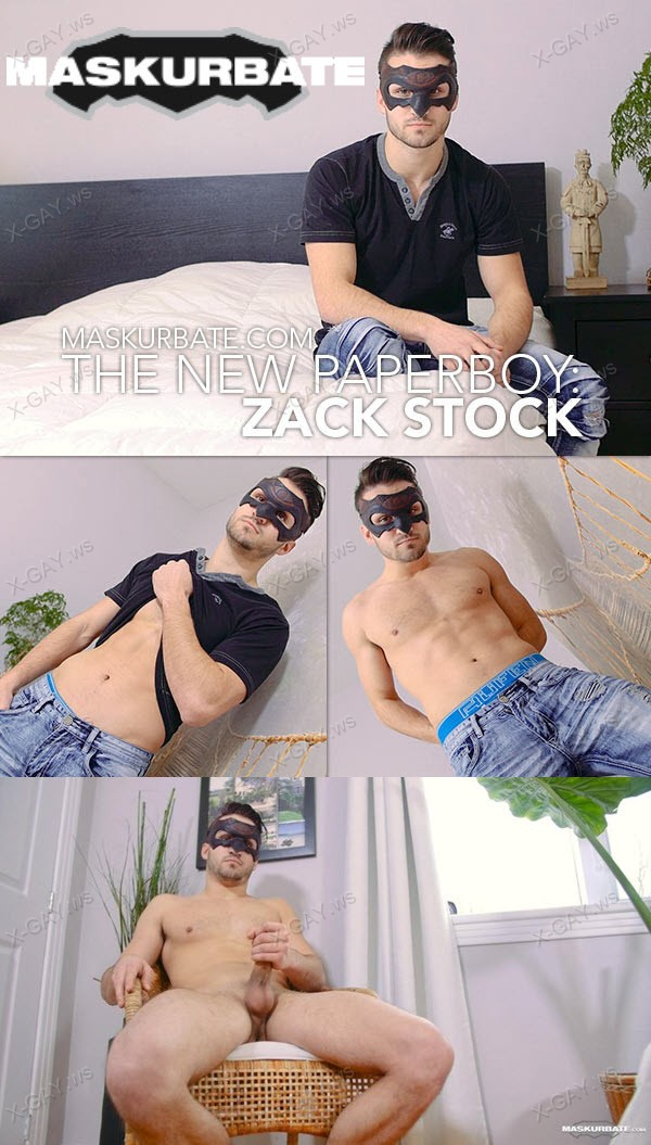 Maskurbate: The New Paperboy (Zack Stock)