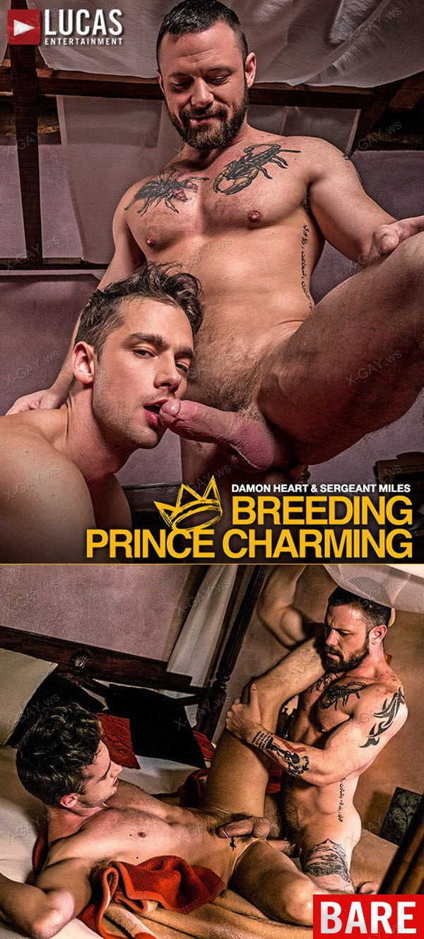 LucasEntertainment: Breeding Prince Charming (Sergeant Miles And Damon Heart Flip Fuck Raw)
