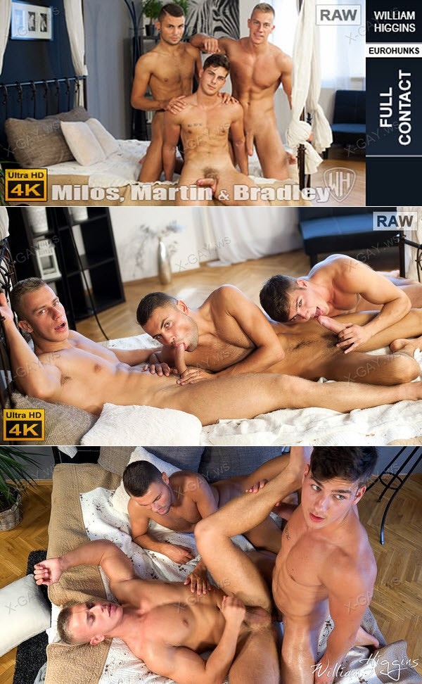WilliamHiggins: Milos Ovcacek, Martin Gajda, Bradley Cook (RAW, FULL CONTACT)