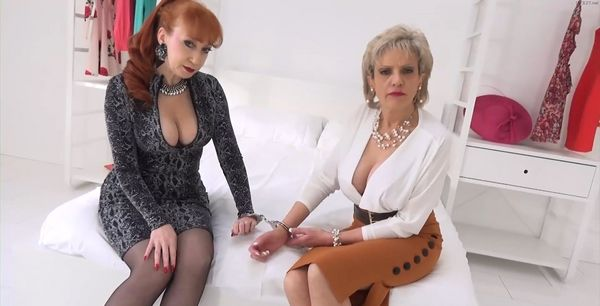 Lady Sonia & Red – Stepmother Handcuffed To Her Best Friend And Forced To Show Their Tits HD