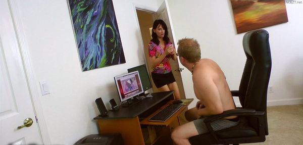 Son's Stress In Mother's Throat – Angie Noir 2 HOT HD Videos!