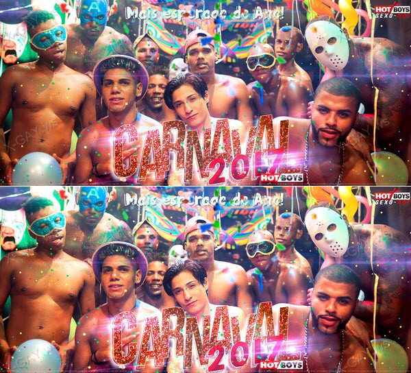 HotBoys: Baile De Carnaval 2017 (Lukas Katter, Jhonatan Coimbra, Felipe Negao, Dom) (Bareback)