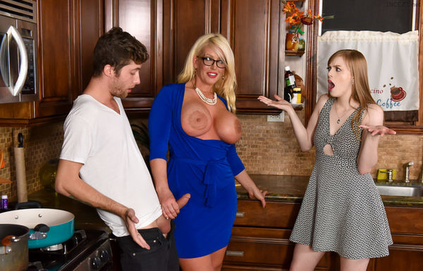 Dolly Leigh and Allura Jensen – My Step Daughter's Boyfriend HD