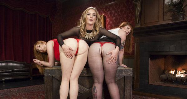 Sisters Gape for Inheritance – Mona Wales , Barbary Rose, Lauren Phillips HD