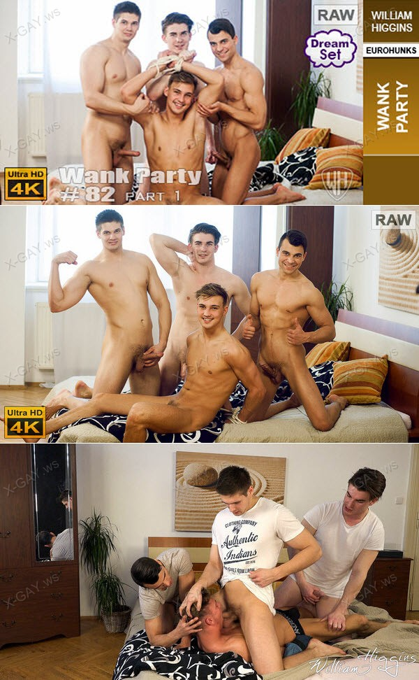 WilliamHiggins: Wank Party #82, Part 1 (RAW, WANK PARTY)