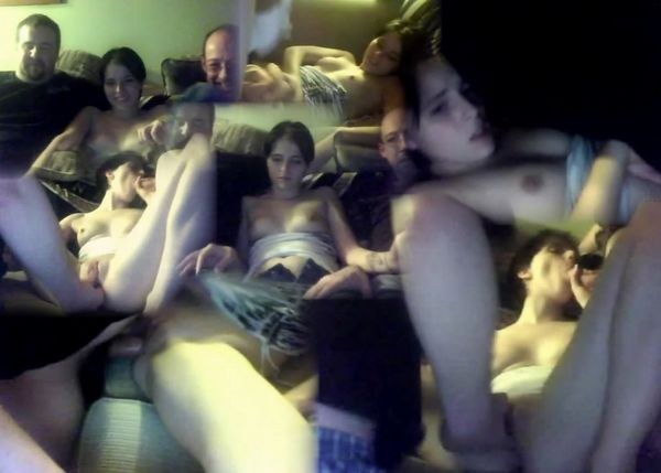 REAL Dad And His Friend Webcam Threesome!